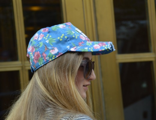 With my Freakyheads Cap in New York