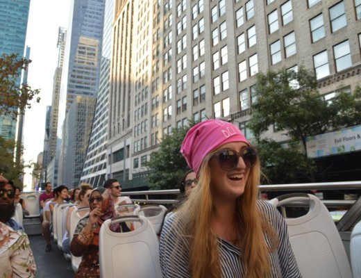 Sightseeing in NYC with my Freakyheads beanie