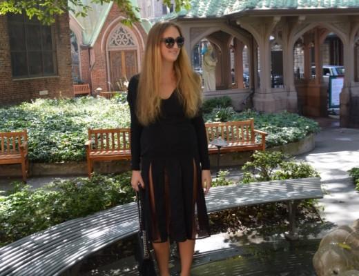 Secret garden in NY with rebekka ruétz: heute präsentiere ich euch wieder einen NY Look mit einem Kleid von Rebekka ruétz