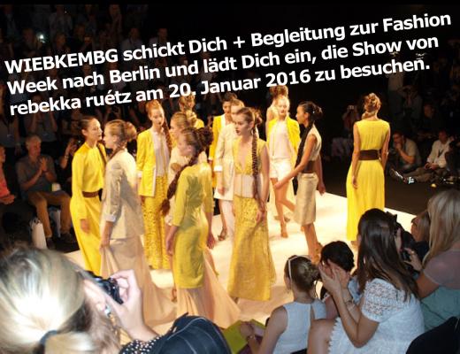 Ich schicke Dich + Begleitung zur Fashion Week nach Berlin: heute darf ich euch eine ganz besondere Aktion vorstellen, denn ich schicke Dich und eine Begleitung deiner Wahl nach Berlin zur Mercedes Benz Fashion Week.