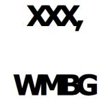 XXX, WMBG