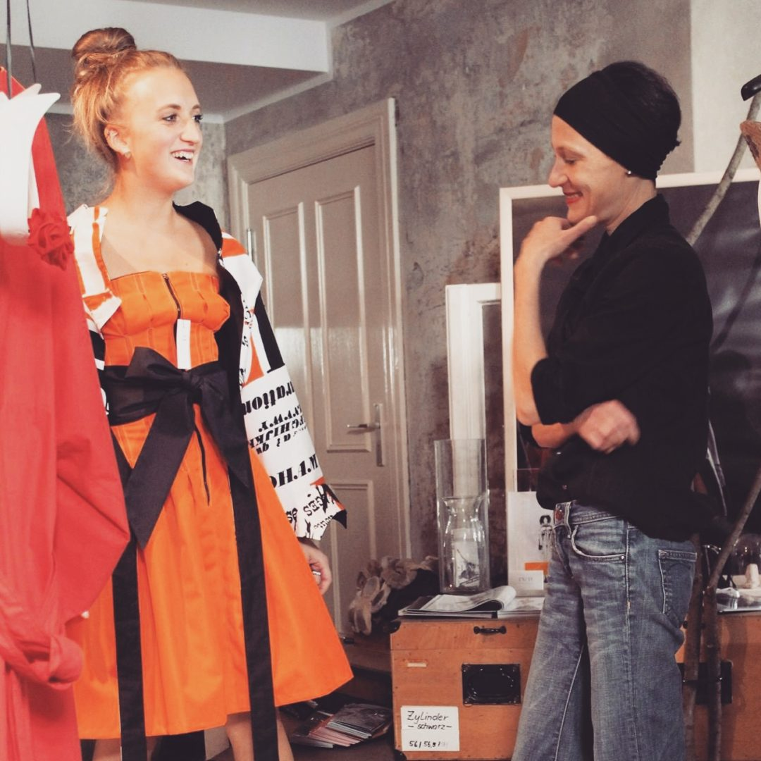 Last week I was in Berlin to meet Isabel Vollrath an together we combined some stunning outfits for the Milan Fashion Week - @wmbg