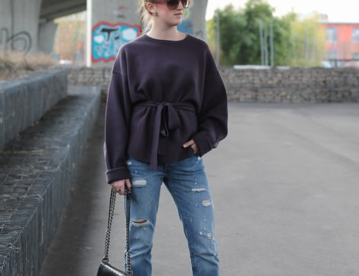 Boyfriend jeans and ballerinas - I clearly remember the time when I was wearing ballerinas nearly every day during spring...@wiebkembg