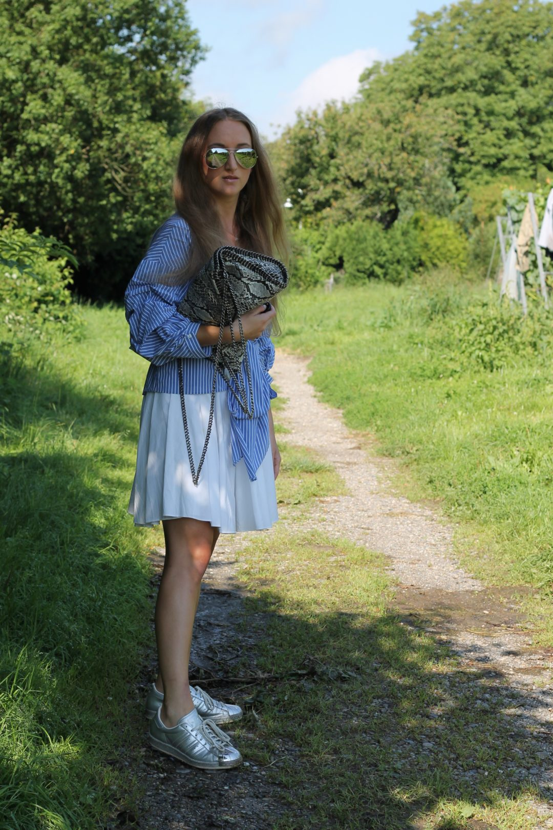 blue blouse - I am finally back with a new outfit! Blue is one of my favorite colors and I am especially addicted to blue blouses and the newest member...@wiebkembg